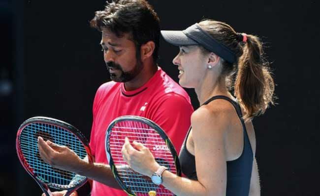 ऑस्ट्रेलियन ओपन : भारत के लिएंडर पेस और मार्टिना हिंगिस की जोड़ी क्वार्टर फाइनल में पहुंची