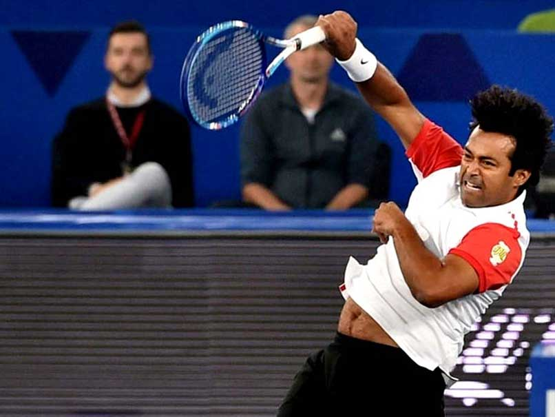 Leander Paes, Andre Sa Knock Out Top Seeds in Auckland