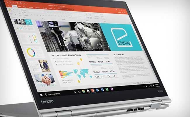 Lenovo Launches New Range Of Laptops, Tablet At CES 2017