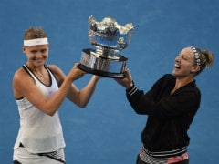 Australian Open: Lucie Safarova, Bethanie Mattek-Sands Clinch Women's Doubles Title