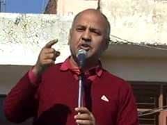 उपमुख्यमंत्री मनीष सिसोदिया ने उठाए पीएम नरेंद्र मोदी सरकार के 'योजना प्रचार' पर सवाल