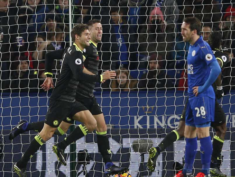 Premier League: Marcos Alonso Lifts Chelsea as Spurs Climb to Second