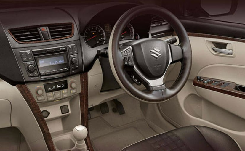 maruti suzuki swift dzire allure dashboard