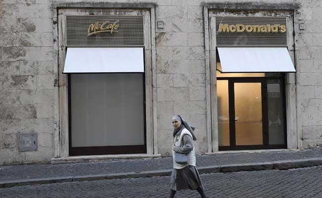 McDonald's Heads To The Vatican
