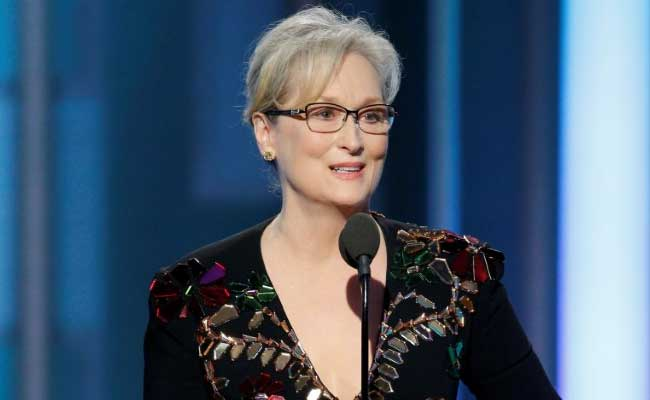 At Globes, Meryl Streep Blasts Donald Trump For 'Imitating Disabled Reporter'
