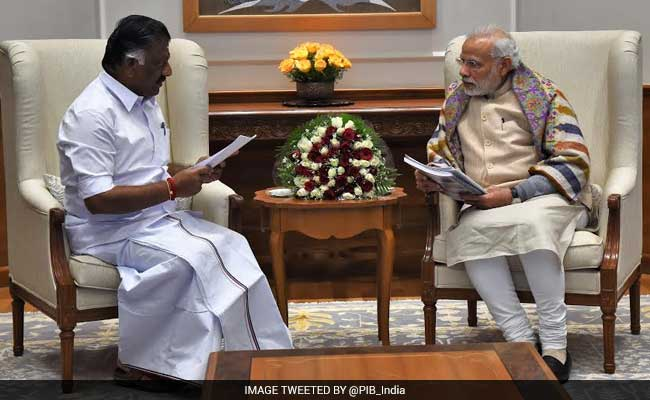 'I'm Minister Because Of PM Modi's Advice,' Says O Panneerselvam