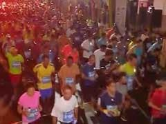14th Mumbai Marathon Flagged-Off, Indian Olympian Among 42,000 Runners