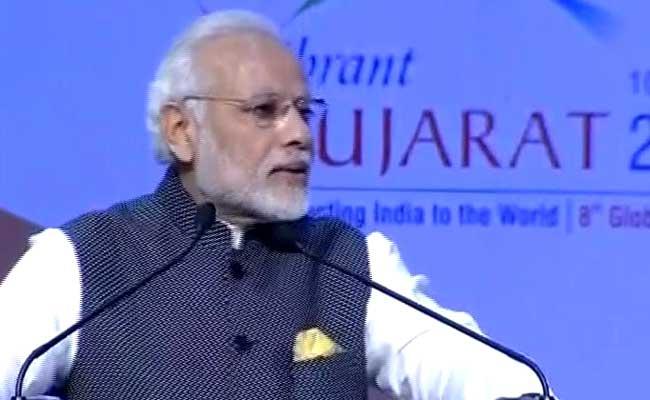 PM Narendra Modi's Top 10 Quotes From Vibrant Gujarat Summit 2017