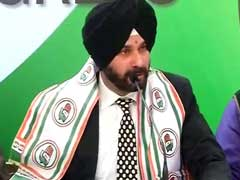 Navjot Singh Sidhu Says Joining Congress 'My <i>Ghar Wapasi</i>'