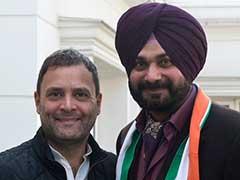 पंजाब चुनाव से पहले कांग्रेस में शामिल हुए पूर्व भाजपा सांसद नवजोत सिंह सिद्धू...