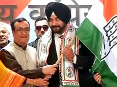 जहां से पार्टी कहेगी, वहां से चुनाव लडूंगा, ये मेरी 'घरवापसी'- कांग्रेस में शामिल होने के बाद नवजोत सिंह सिद्धू