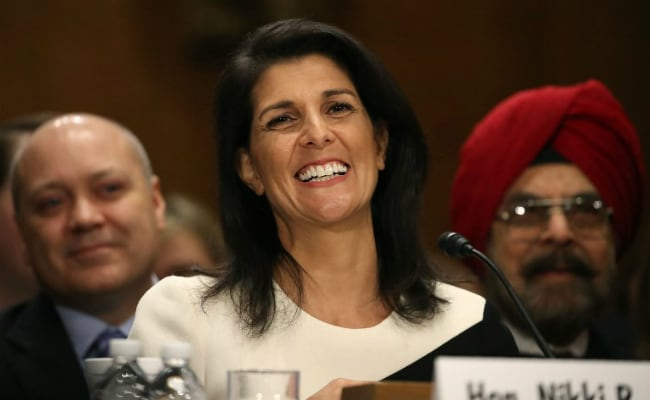 My Mother, A Judge, Wasn't Allowed To Sit On The Bench In India, Says Nikki Haley