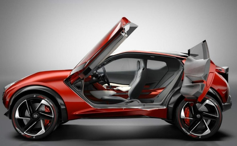 nissan juke ev concept might make its debut at 2017 tokyo motor show ndtv carandbike. Black Bedroom Furniture Sets. Home Design Ideas