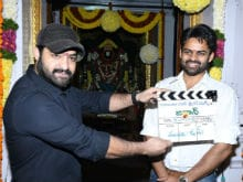 NTR Launches Sai Dharam Tej's Next Film <I>Jawaan</i>. See Pics Here