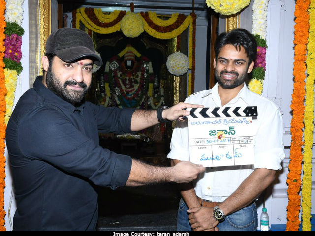 NTR Launches Sai Dharam Tej's Next Film Jawaan. See Pics Here