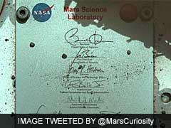 Barack Obama Thanks NASA For Taking His Sign To Mars