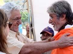 अमिताभ बच्चन ने ओम पुरी के लिए कहा, 'ऐसा प्रसन्नचित रहने वाला व्यक्ति कैसे जा सकता है?'