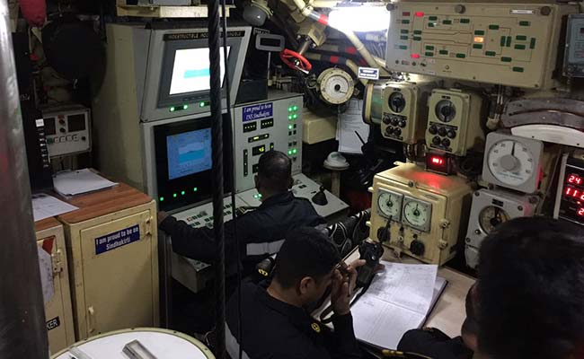 Exclusive: An Indian Submarine, Its Crew, And Its Top Secret Mission
