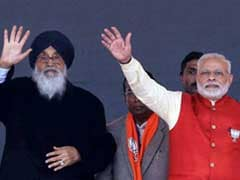 Punjab Elections 2017: BJP-Akali Agenda Is Peace, Congress' 'Divide And Rule': Parkash Singh Badal
