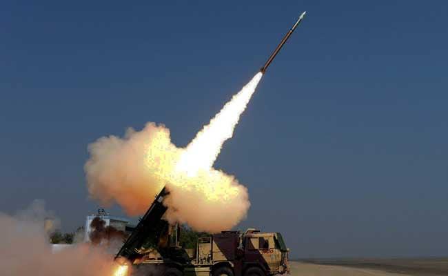 Upgraded Pinaka Rocket Test-Fired Successfully From Odisha