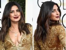 Golden Globes 2017: Priyanka Chopra Wins Red Carpet In Ralph Lauren, Presents Award