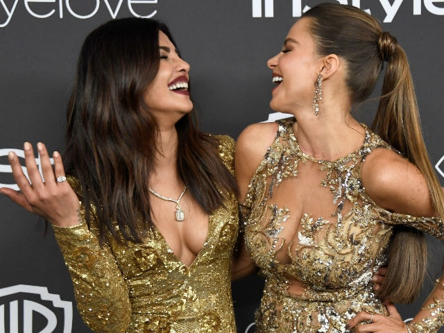 Priyanka Chopra Made Hilarious Entrance At Golden Globes Party With Sofia Vergara