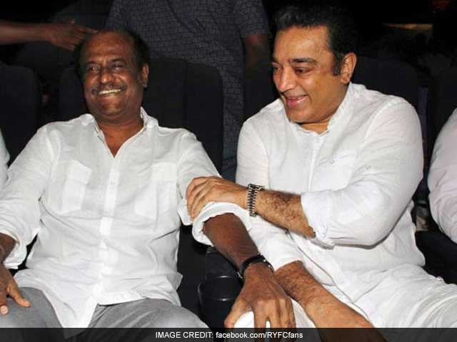 Rajinikanth And I Can Act Together, Says Kamal Haasan. But Who Can Afford Them?