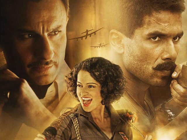 Rangoon Trailer: Shahid Kapoor, Kangana Ranaut, Saif Ali Khan's War-Torn Love Triangle