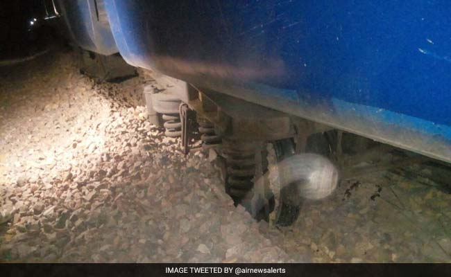 10 Coaches Of Ranikhet Express Derails In Rajasthan's Jaisalmer, No Casualties Reported