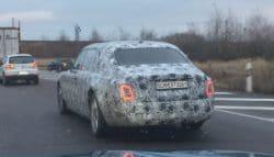 2018 Rolls-Royce Phantom Caught Testing Again