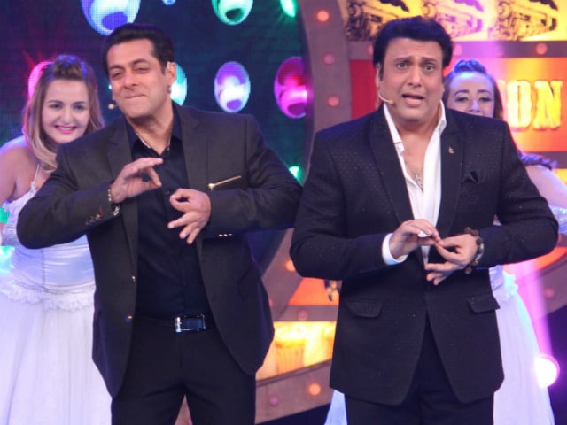 Bigg Boss 10: Inside Salman Khan's Shoot With Partner Govinda. See Pics