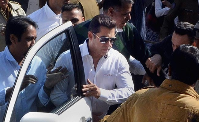 सलमान खान को अवैध शिकार मामले में व्यक्तिगत पेशी से छूट मिली