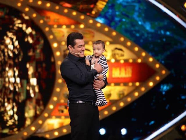 Bigg Boss 10: Salman Khan's Adorable Guest, Baby Ahil