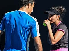 Australian Open: Sania Mirza Edges Past Rohan Bopanna, in Semis