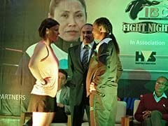 Sarita Devi Vows to Silence Zsofia Bedo in Pro Debut