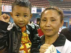 Sarita Devi Wins On Pro Boxing Debut, Silences Zsofia Bedo