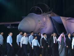 Saudi Arabia Shows Off New F-15 Warplane, Missile Attached To Belly