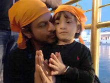 <I>Raees</I>: What Shah Rukh Khan And AbRam Did In Amritsar