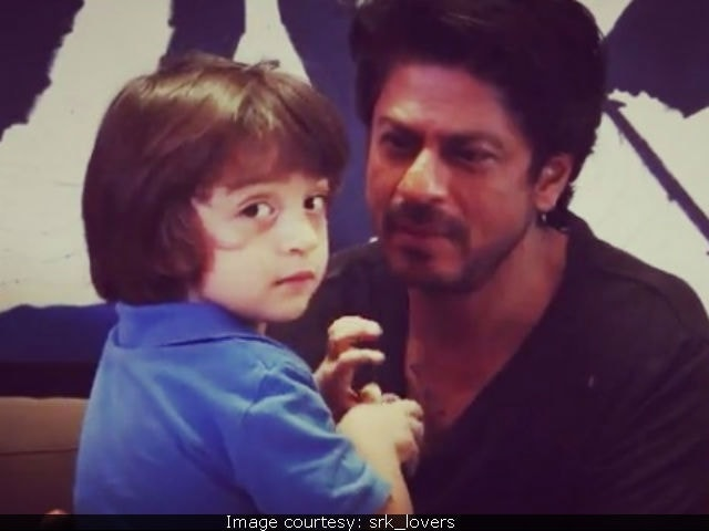 Shah Rukh Khan's Son AbRam Adorably Crashes Interview In Video Going Viral