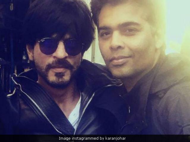 Shah Rukh Khan And Karan Johar's Twitter Conversation Will Make You ROFL