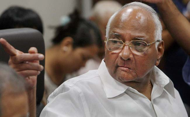Sharad Pawar Sees Accident, Stops Convoy To Help Injured People