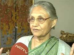 """Not Assembly's Right"": Sheila Dikshit On Rajiv Gandhi Resolution Row"