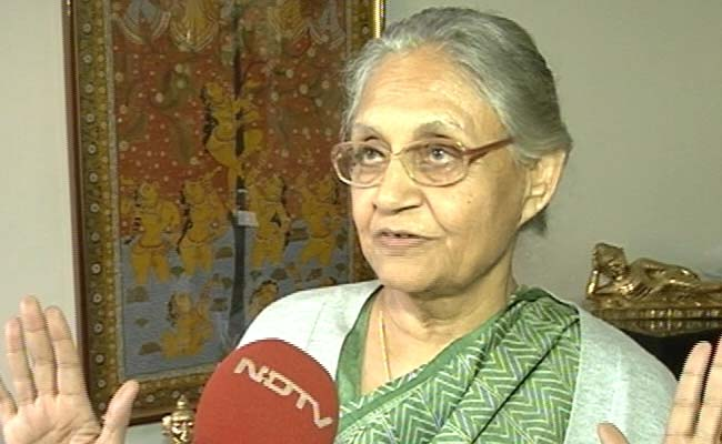 'Not Assembly's Right': Sheila Dikshit On Rajiv Gandhi Resolution Row