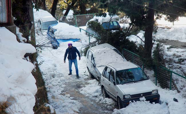 Shimla, Manali Have More Snow; Mercury Dips Below Zero In Most Of Himachal Pradesh