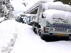 Heavy Snowfall In Shimla, Manali Hampers Traffic, Electricity Lines Snapped