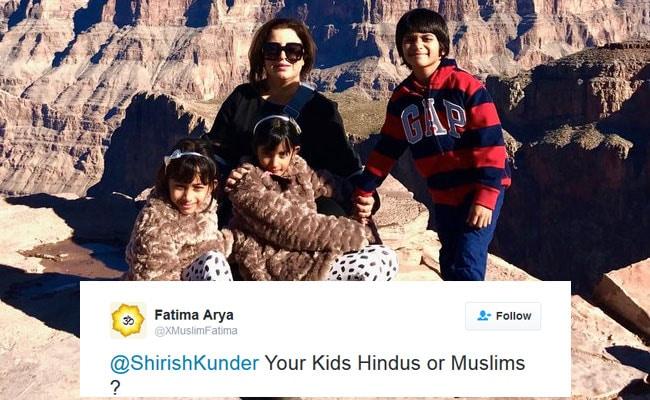 जब बच्चों का धर्म पूछे जाने पर शिरीष कुंदर ने ट्विटर पर दिया 'शानदार' 'सुपरहिट' जवाब...