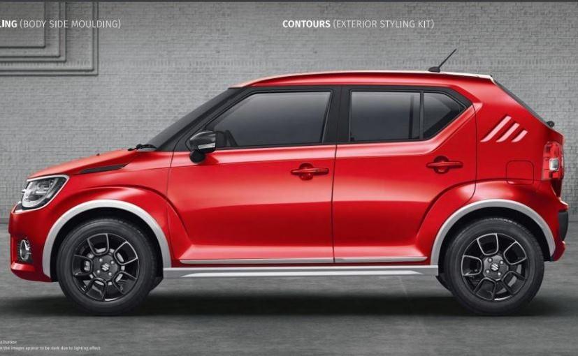 Maruti Suzuki Ignis Accessories And Personalisation Options - Car body graphics for altomaruti dzire exteriorsinteriors genuine accessories