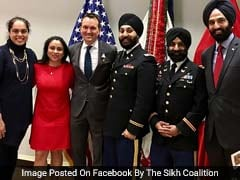 5 Sikhs Inducted Into US Army With Religious Accommodation