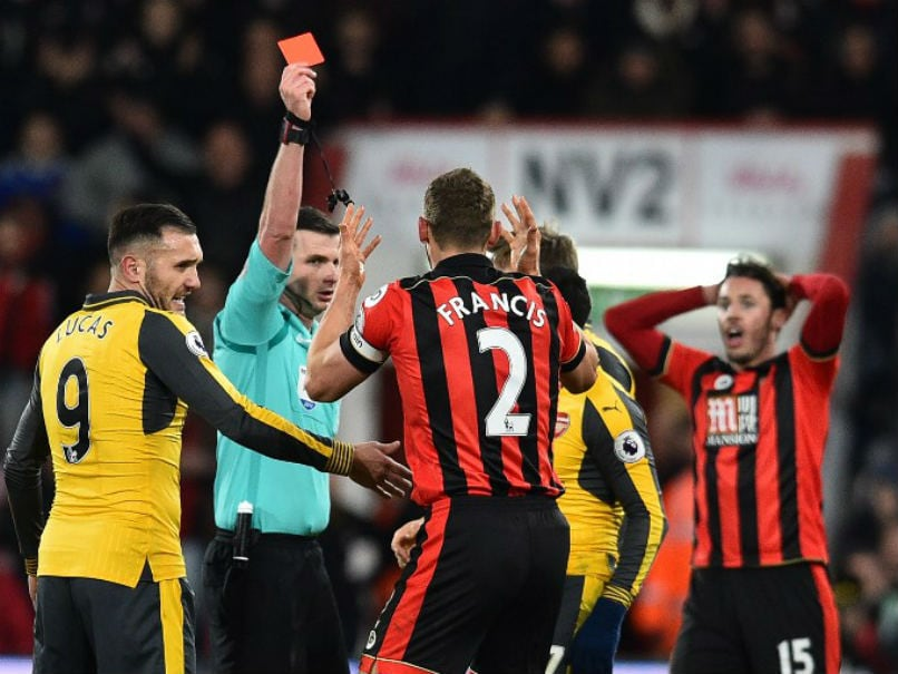 Premier League: Bournemouth Appeal Simon Francis Red Card