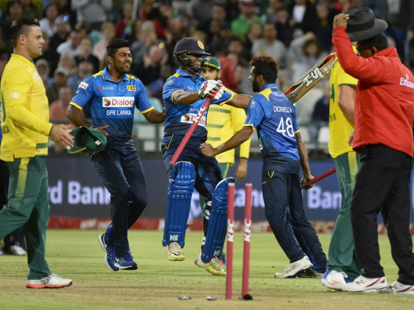 Sri Lanka Claim T20 Series in AB de Villiers' Comeback